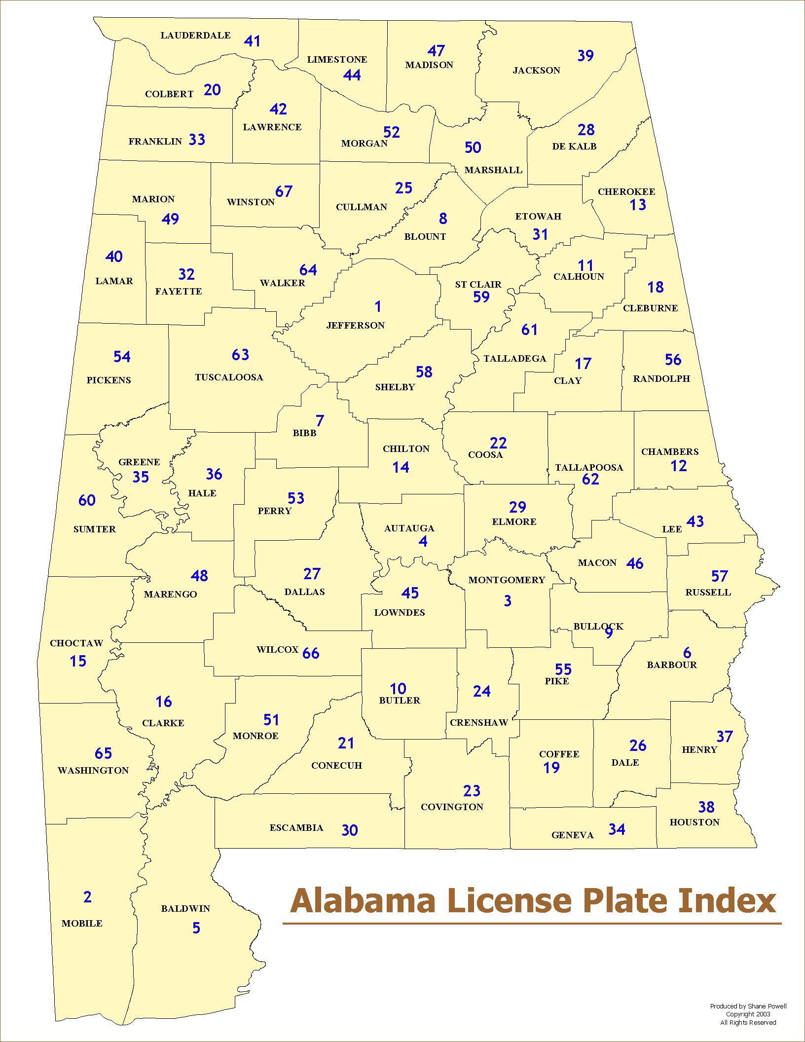 List of counties in Alabama - Wikipedia